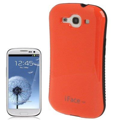 LambeMu - iFace Mall 3rd Series Urethan. PC Material schtzenden Hlle fr Samsung Galaxy SIII / i9300 (Orange) Siii-serie