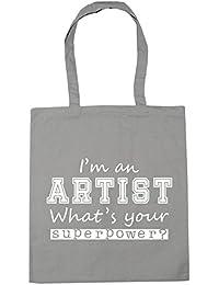 58a8d9f16 HippoWarehouse I'm an Artist What's Your Superpower? Tote Shopping Gym Beach  Bag 42cm x38cm, 10 litres