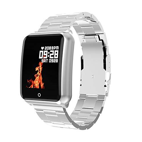 LWPCP Smart-Armband, 3,3 cm Farb-großer Bildschirm, Herzfrequenz, Blutdruck, Sauerstoff, Gesundheitsüberwachung, Multisport-Modus Fitness-Tracker 2