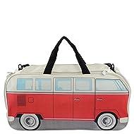 VW Collection by Brisa Sport/Bolsa de viaje, color rojo