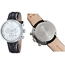 CCCP KASHALOT DRESS Leather Watch - CP-7007-01