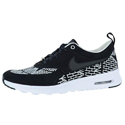 Nike Wmns Air Max Thea Lotc Qs, Chaussures de Sport Femme Noir / Noir-Blanc
