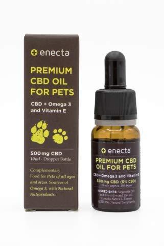 ENECTA Aceite por Mascotas 5% CBD
