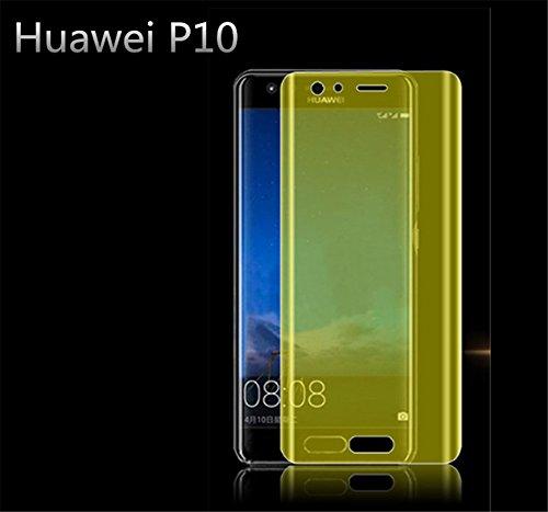 Preisvergleich Produktbild Interesting® 2Pcs volle Abdeckung 3D-Explosions-Beweis-Telefon-Schirm-Schutz-Film für Huawei P10