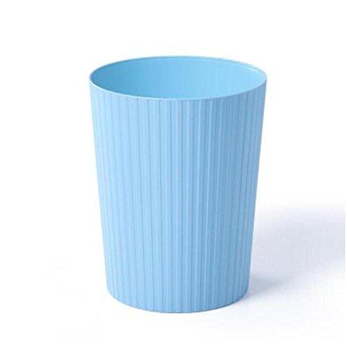 nzimmer Küche Bad privaten Toiletten Mülltonnen Büro Papierkorb Papierkorb Material Kunststoff Format 21.2* 27* 172cm blau (Schritt 2 Blaue Wagen)