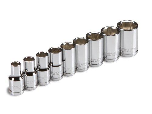 TEKTON 1202 Pack de llaves de vaso de 1/4 de pulgada (4-12 mm),
