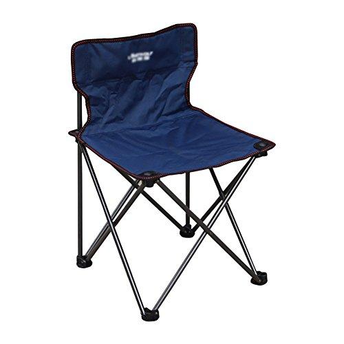 ZCJB Chaise Extérieure Chaise Pliante Portable Chaise De Pêche Chaise Longue Chaise De Plage Chaise Auto-Conduite (Couleur : Bleu Marin)