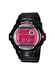 Casio Baby-g Digital Red Dial Womens Watch-BG-169R-1BDR (BX086)