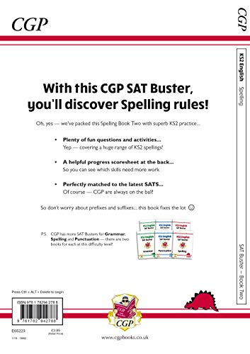 New KS2 English SAT Buster: Spelling - Book 2 (for the 2020 tests)