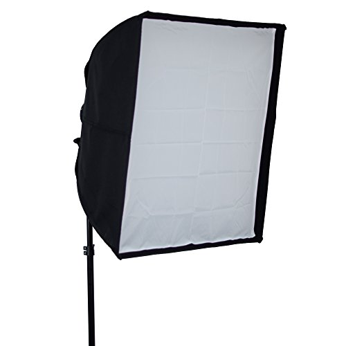 Phot-R professionale 100 cm x 100 centimetri ombrello pieghevole Striscia Softbox con Elinchrom Speedring per Photo Video Studio di illuminazione flash
