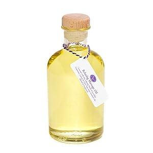 500ml Massageöl RELAXING (entspannend) – reines ätherisches Öl (Lavendel, Geranie, Zitrone & Muskatellersalbeiöl)