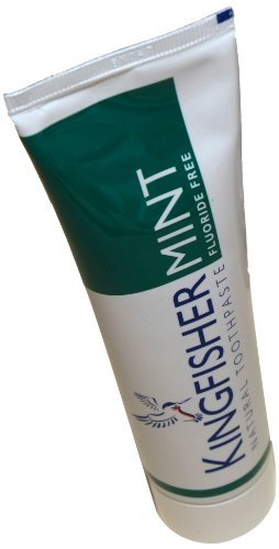 12 Pack of Kingfisher Mint Fluoride Free Toothpaste 100 ML