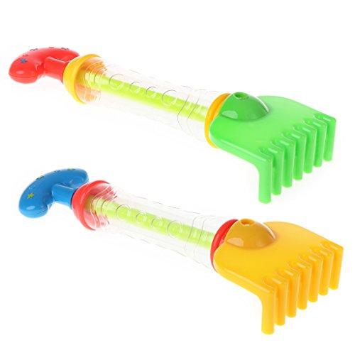 Autone Strand Schaufel, Beach Rake, Wasser Gun Beach Toys, Wasser Bad Spielzeug spielen, 1pc zufällige Farbe New