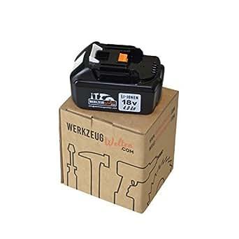 Batterie de rechange pour Makita BL1840 18v 4,0ah Samsung Inside