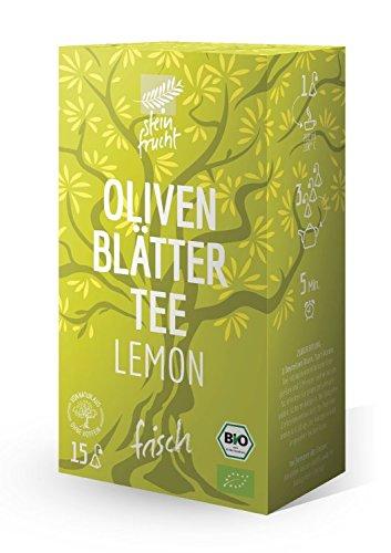 steinfrucht-bio-olivenblattertee-lemon30g