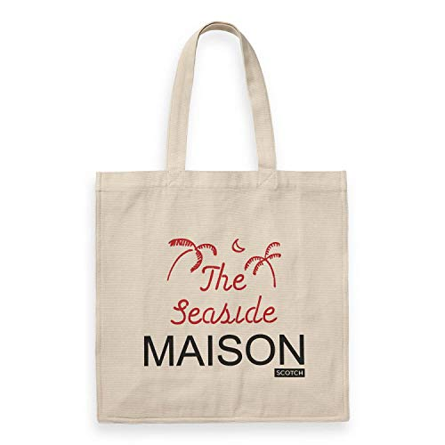 Maison Scotch Damen Tragetasche Graphic Printed Tote Bag 150365 Combo B One Size -