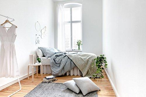 ROOM IN A BOX | Bett 2.0 S/W: Nachhaltiges Klappbett aus Wellpappe in der Größe 90 x 200 cm und alle Zwischengrößen. Ideal auch als praktisches Gästebett, da leicht verstaubar und ein Lattenrost nicht benötigt wird. - 5