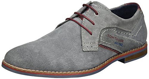 Tom Tailor 2780001, Derby homme Gris