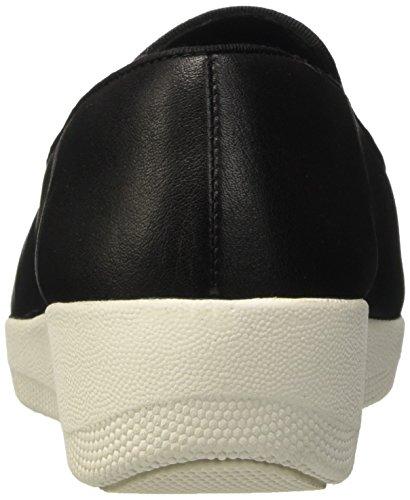 FitFlop Tassel Superskate Tm, Scarpe Low-Top Donna Nero (Black)
