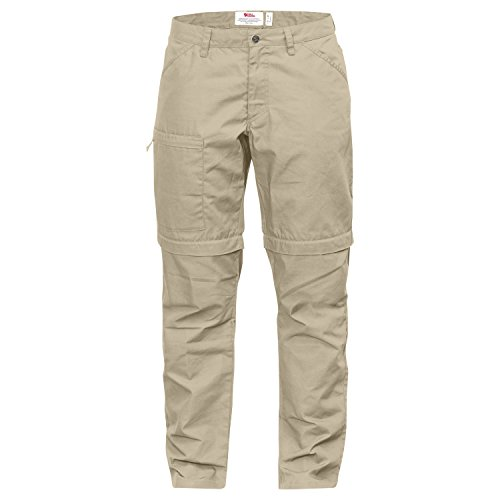 Fjällräven Damen High Coast Trousers Zip Off w pantaloni lunghi Calcare