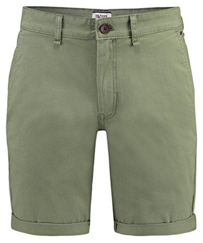 Tommy Jeans Herren Shorts Oliv