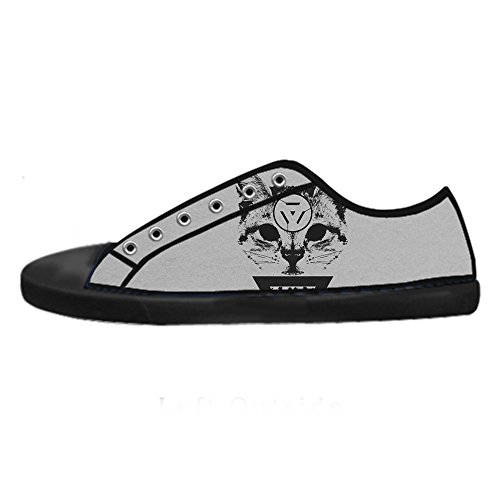 omen's Canvas shoes Schuhe Lace-up High-top Footwear Sneakers (Katze Aus Dem Zauberer Von Oz)