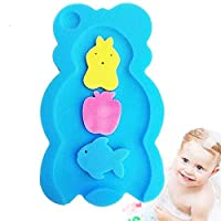 Baby bath mat thickened soft sponge non-slip mat Non Slip Soft Baby Kids Safety Shower Tub Bath Mat Skid Proof and Anti Bacterial Mildew Mold Resistant Bathtub Mat