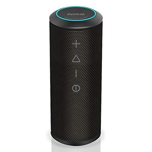 Altavoz Inalámbrico Portátil, Zamkol Altavoz Bluetooth 4.2 20W Sonido Estéreo con Radiador...