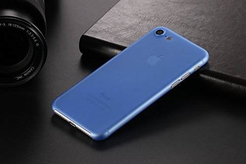 Monkey cases® Ultra sottile silicone opaco Look – Premium – Custodia per Cover – Slim 0,3 Mm Flash blau