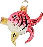 Weihnachtsbaumschmuck Fisch Glas Anhänger Tropenfisch pink Australien Great Barrier Reef