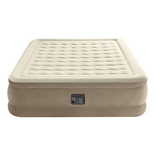 Intex - Queen Ultra Plush airbed with Fiber-Tech bip 64428