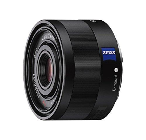 Sony SEL-35F28Z Zeiss Weitwinkel Objektiv (Festbrennweite, 35 mm, F2,8, Vollformat, geeignet für A7, A6000, A5100, A5000 und Nex Serien, E-Mount) schwarz (Sony A7r Tasche Kamera)