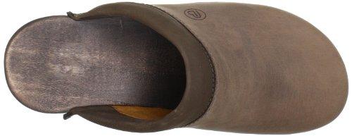Berkemann - Soft-Toeffler, Zoccolo, unisex Marrone (Braun (dunkelbraun)
