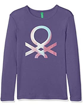 United Colors of Benetton T-Shirt Longsleeve, Camiseta Para Niñas