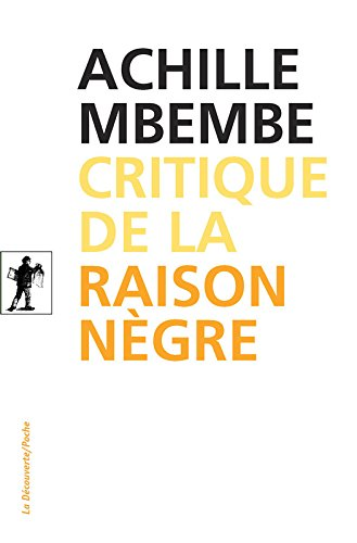 Critique de la raison ngre