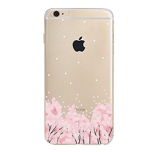 iPhone 6S Plus Bumper Coque,iPhone 6S Plus Fille Coque,iPhone 6S Plus Transparente Coque,Coque Housse Etui pour iPhone 6 Plus / 6S Plus,EMAXELERS iPhone 6S Plus Silicone Case Slim Gel Cover,iPhone 6 P TPU 15