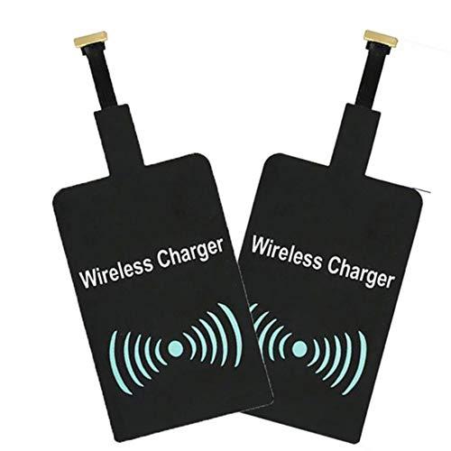 Preisvergleich Produktbild fggfgjg Universal QI Wireless Charger Receiver Module for Micro-USB Mobile Phone(Black)