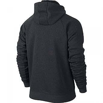 Nike Air Jordan AJ Fleece Hoodie For Men,Black,Medium