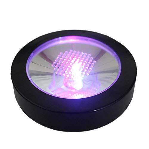 InvocBL LED Cupholder Dessous-de-Verre, Lumineuse Porte-gobelet Tapis de Dessous de Verre pour Barre de fête Club