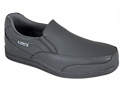 Smart Grey Shoes Men Amazon Co Uk