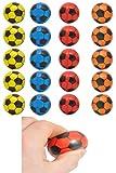 Schnäppchenladen24  Fußball 20 Stück / weich / Antistress / Softball Mix Farben Ø 4 cm Ball