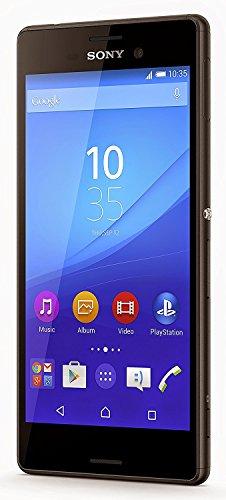 """Sony Xperia M4 Aqua -E2306 Smartphone 5"""", 16 Go, 2 Go de RAM, Android (Importé), Noir"""