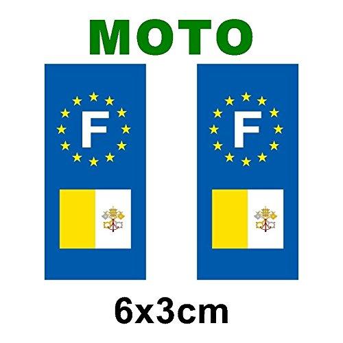 supstick 2 STICKERS AUTOCOLLANT PLAQUE IMMATRICULATION DEPT 69 Auvergne-Rh/ône-Alpes format rectangulaire