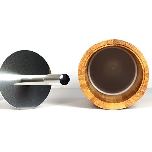 Bambus WC-Bürste und Bürstenhalter - 3
