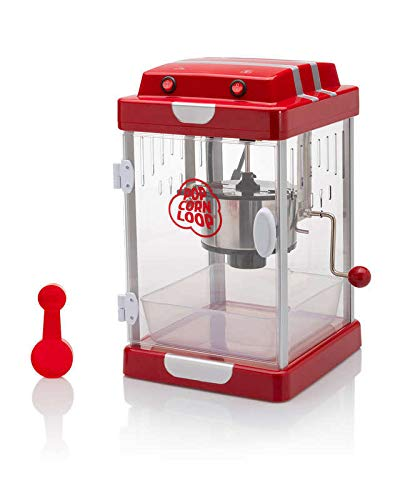 "Popcornloop Popcornmaschine: Popcorn-Maschine\""Standard\"" mit Edelstahl-Topf"
