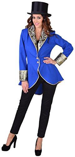 M218188-14-L blau Damen Party Theater Jacke -