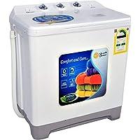 Dansat Twin Tub Washing Machine 5 Kg, White - DW050DW