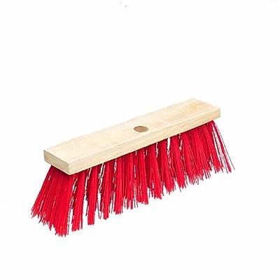 EiFi Straßenbesen Elaston, Rot, 32 cm