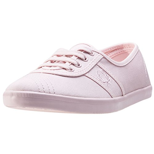 Fred Perry Aubrey Twill Donna Sneaker Rosa Blush Pink