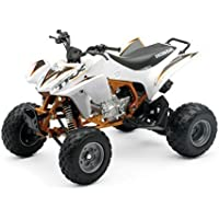 Honda TRX 450R white ATV- model 1:12 from New Ray die cast model by New Ray